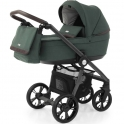 BabyStyle Prestige 3 2in1 Pram System Grey Frame/Brown-Fern
