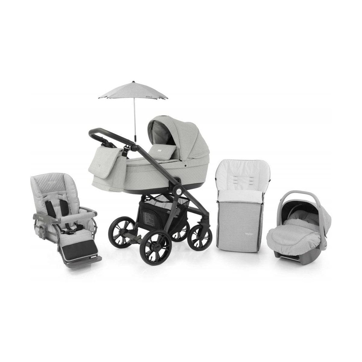 Grey Baby Parasol Compatible with Babystyle Prestige