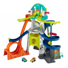 Fisher Price Little People Wheelies Launch & Loop Playset (NEW)