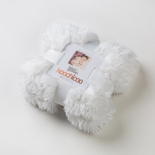 Bizzi Growin Koochicoo Luxury Blanket-White