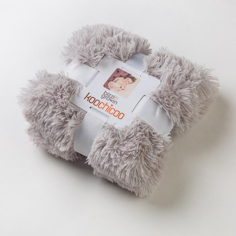 Bizzi Growin Koochicoo Luxury Blanket-Grey