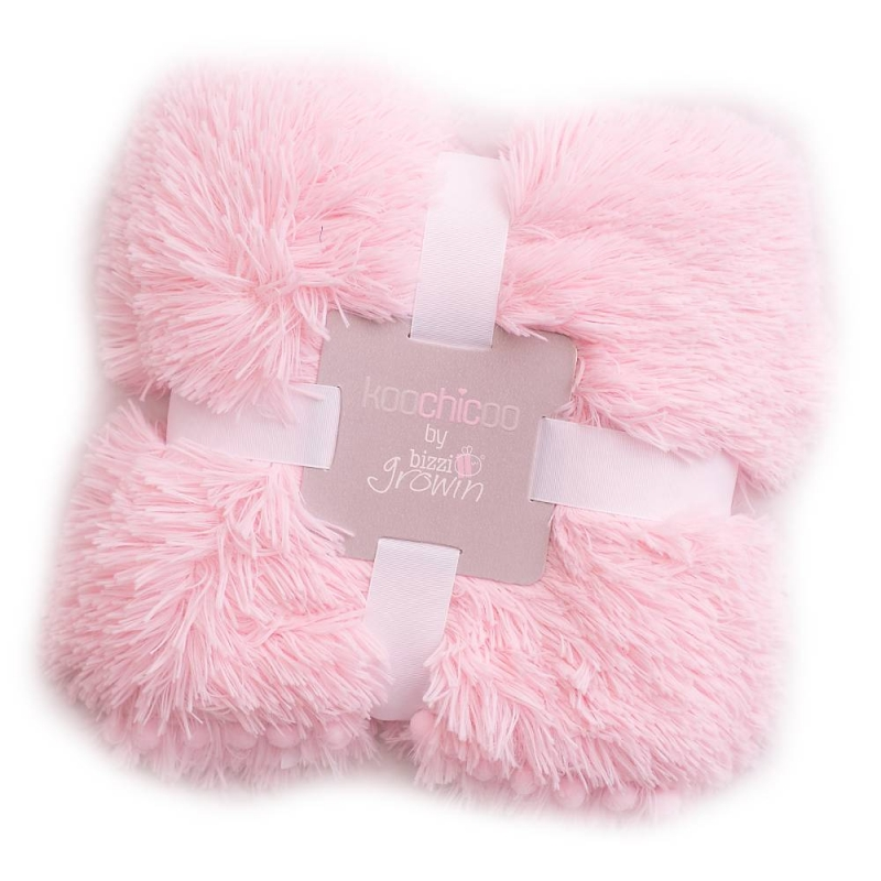 Bizzi Growin Koochicoo Luxury Blanket-Pink