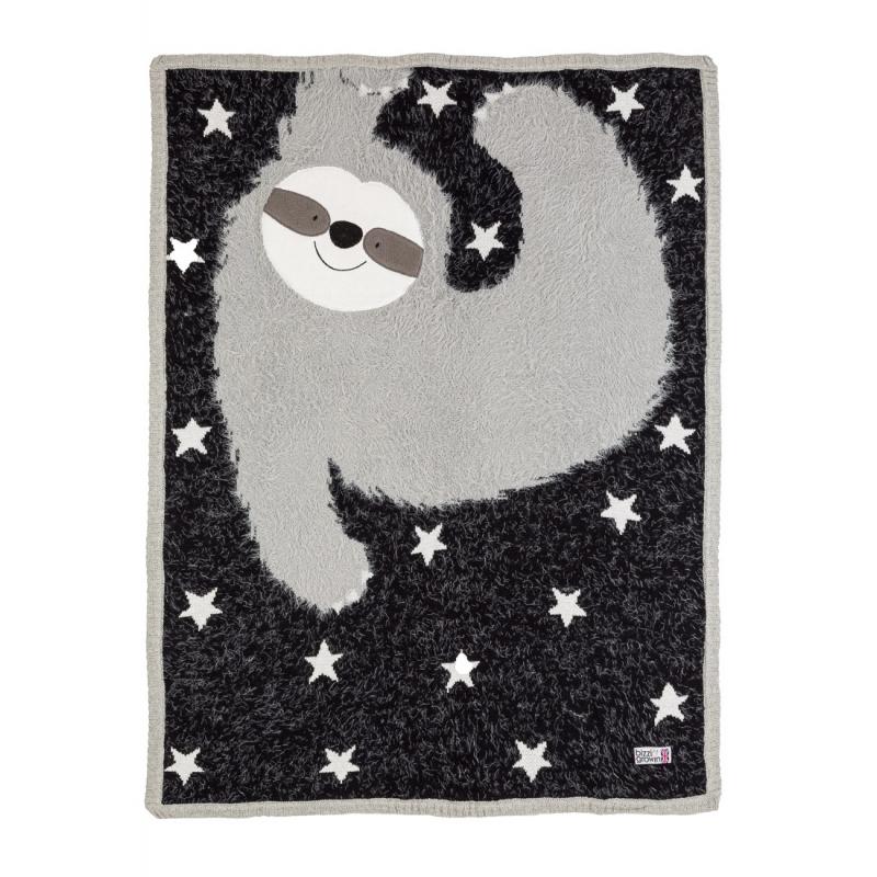Bizzi Growin Sidney Sloth Baby Blanket