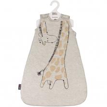 Bizzi Growin 2.5 Tog Sleeping Bag 0-6 Months-Giraffe (NEW)