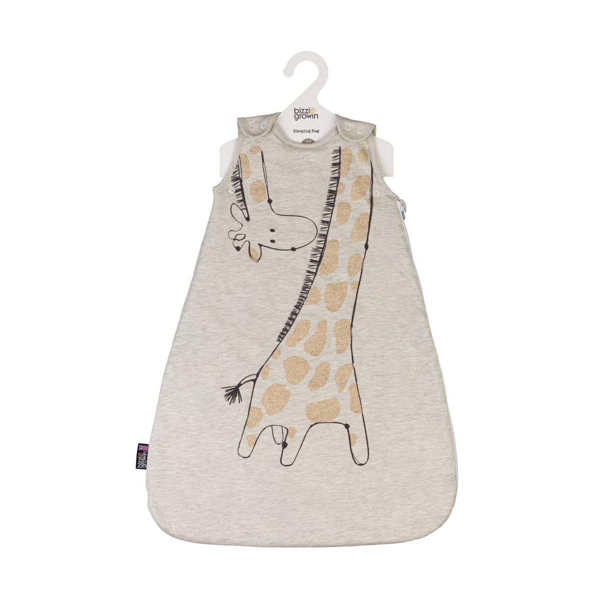 Bizzi Growin 2.5 Tog Sleeping Bag 6-18 Months-Giraffe (NEW)