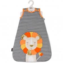 Bizzi Growin 2.5 Tog Sleeping Bag 0-6 Months-Ludvic Lion (NEW)