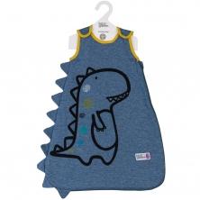 Bizzi Growin 2.5 Tog Sleeping Bag 0-6 Months-Tony the T Rex (NEW)
