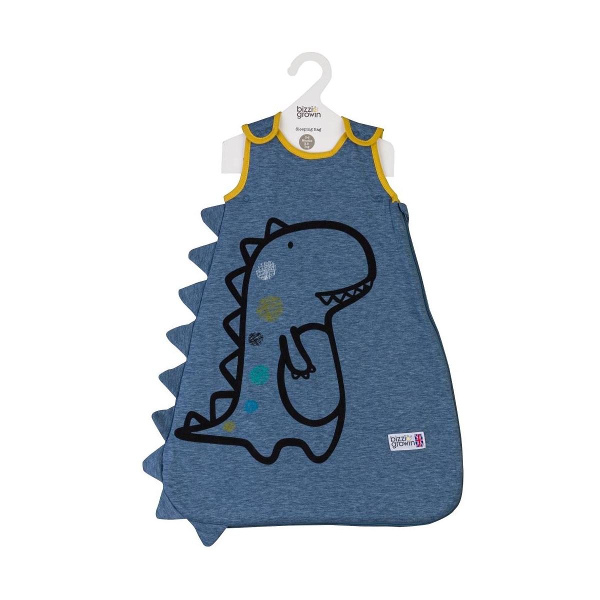 Bizzi Growin 2.5 Tog Sleeping Bag 6-18 Months-Tony the T Rex (NEW)