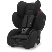 Recaro Young Sport Hero Group 1/2/3 Car Seat-Deep Black (NEW 2021)