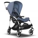 Bugaboo Bee 5 Stroller-Aluminium/Blue Melange