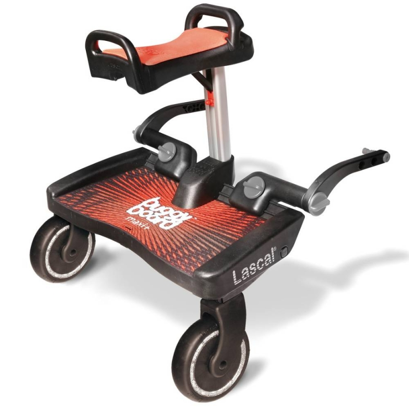 Lascal Maxi Plus BuggyBoard + Saddle-Red/Red