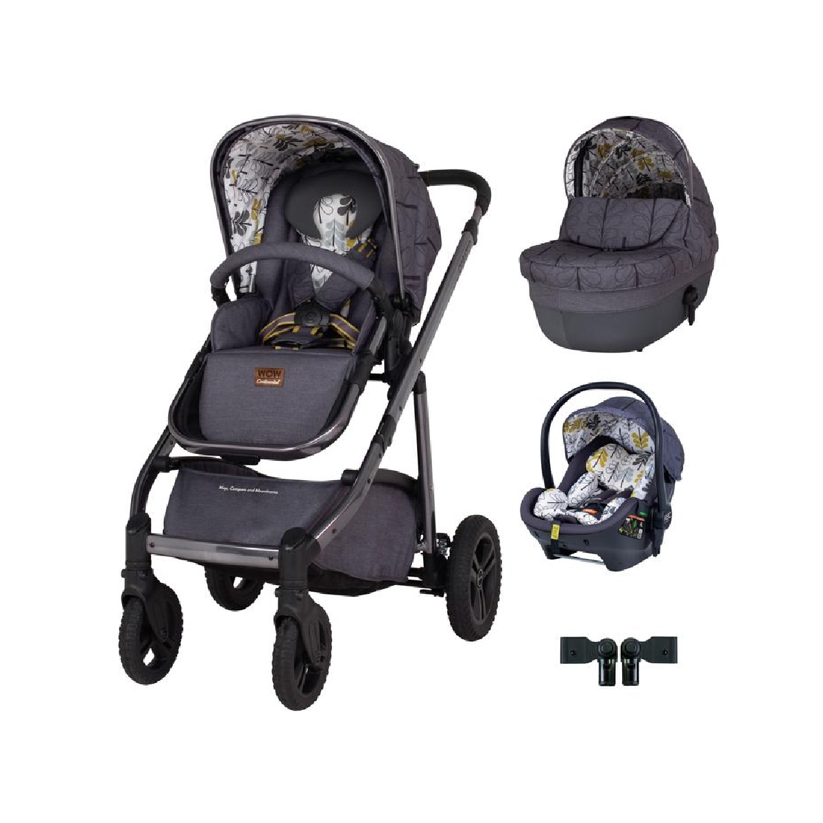Cosatto Wow Continental Premium Travel System Bundle-Fika Forest