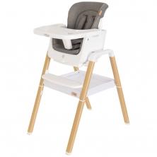 Tutti Bambini Nova Evolutionary Highchair-White/Oak