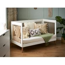 Obaby Maya Cot Bed-White/Natural