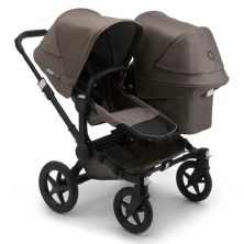 Bugaboo Donkey 3 Duo Mineral Collection Complete Pushchair-Black/Taupe