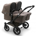 Bugaboo Donkey 3 Twin Mineral Collection Pushchair-Black/Taupe