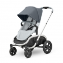 Quinny Hubb Graphite Frame Shopping Stroller-Graphite/Grey