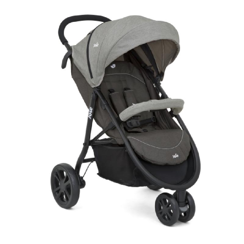 Joie Litetrax 3-Wheel Stroller-Dark Pewter