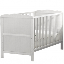 Kiddies Kingdom Cot Bed/Toddler Bed (140 x 70cm)-White