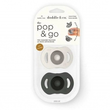 Doddle & Co Pop & Go Cream of ther Crop+Coal Mate-Twin Pack (2021)