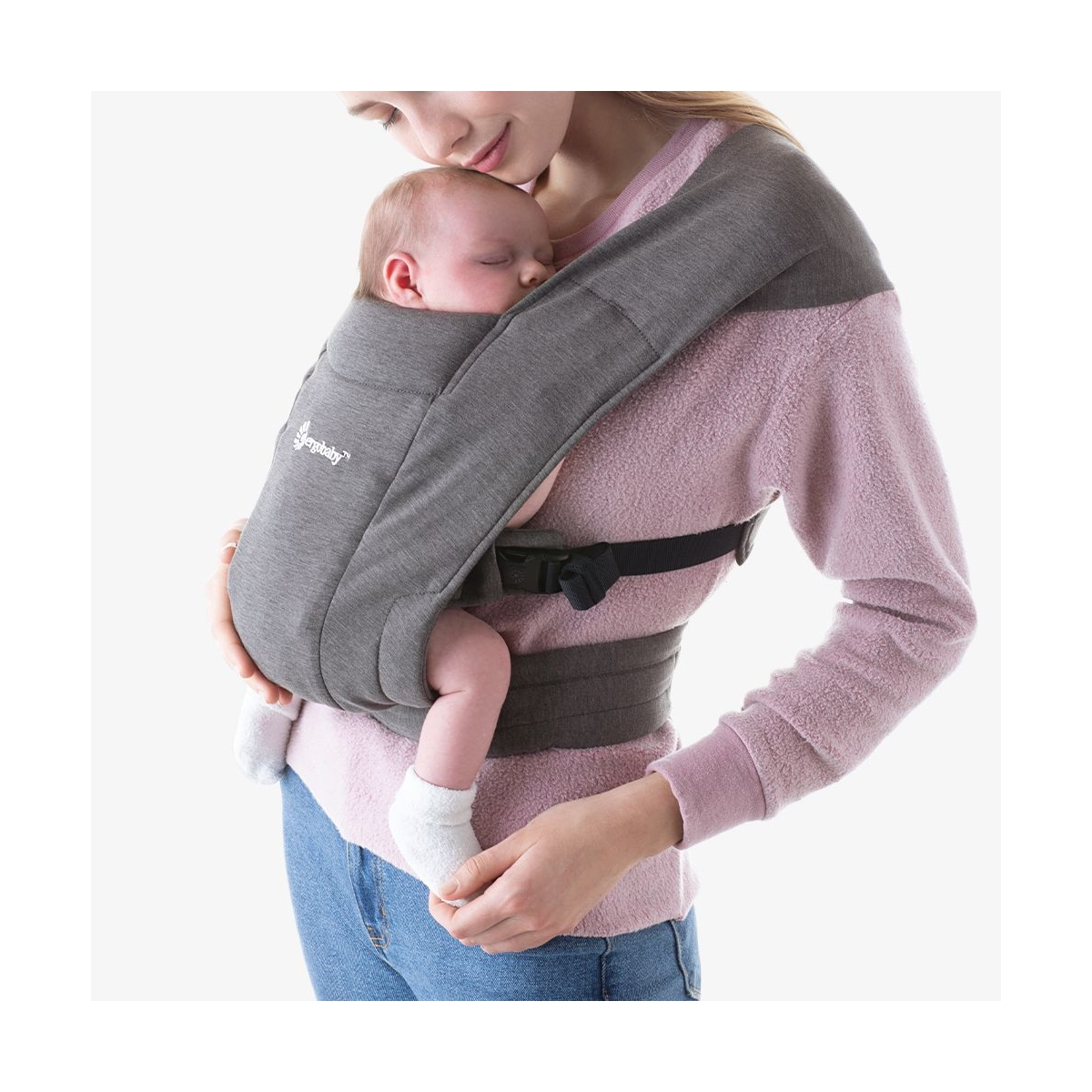 Ergobaby Embrace Baby Carrier-Heather Grey (2020)