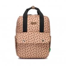 Babymel Georgi ECO Convertible Backpack-Caramel Leopard (2021)