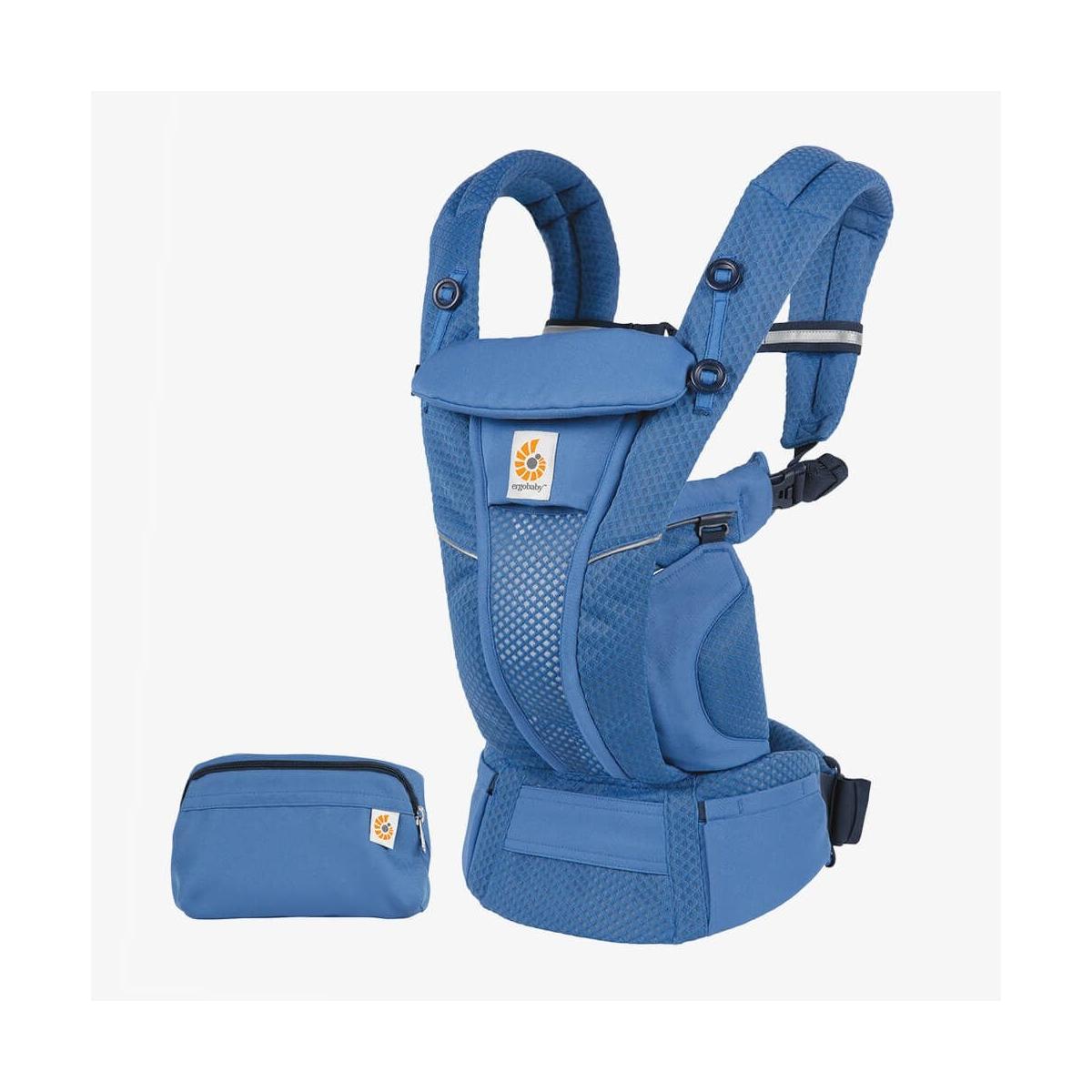 Ergobaby Omni Breeze Baby Carrier-Sapphire Blue (2021)