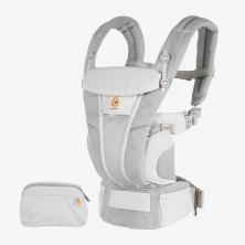 Ergobaby Omni Breeze Baby Carrier-Pearl Grey (2021)