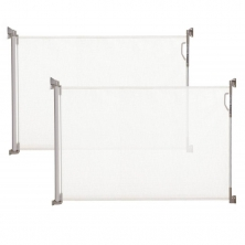 Dreambaby Retractable Relocated Mesh Saftey Gate-White (2021)