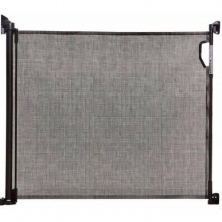 Dreambaby Retractable Relocated Mesh Saftey Gate-Black (2021)
