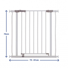 Dreambaby Metal Safety Gate-White (2021)