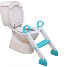 Dreambaby Step-up Toilet Trainer-Aqua/White (2021)