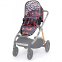 Cosatto Wow XL Seat Unit-Charcoal Mister Fox