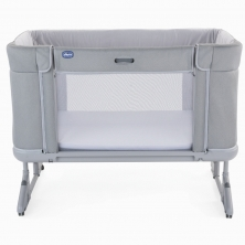 Chicco Next2Me Forever Side Sleeping Crib-Cool Grey (Bounty)