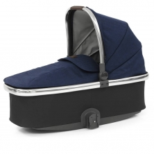 Babystyle Oyster 3 Mirror Finish Carrycot-Rich Navy