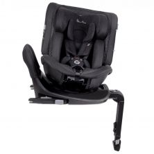Silver Cross Motion All Size 360 Group 0+/1/2/3 Car Seat-Black