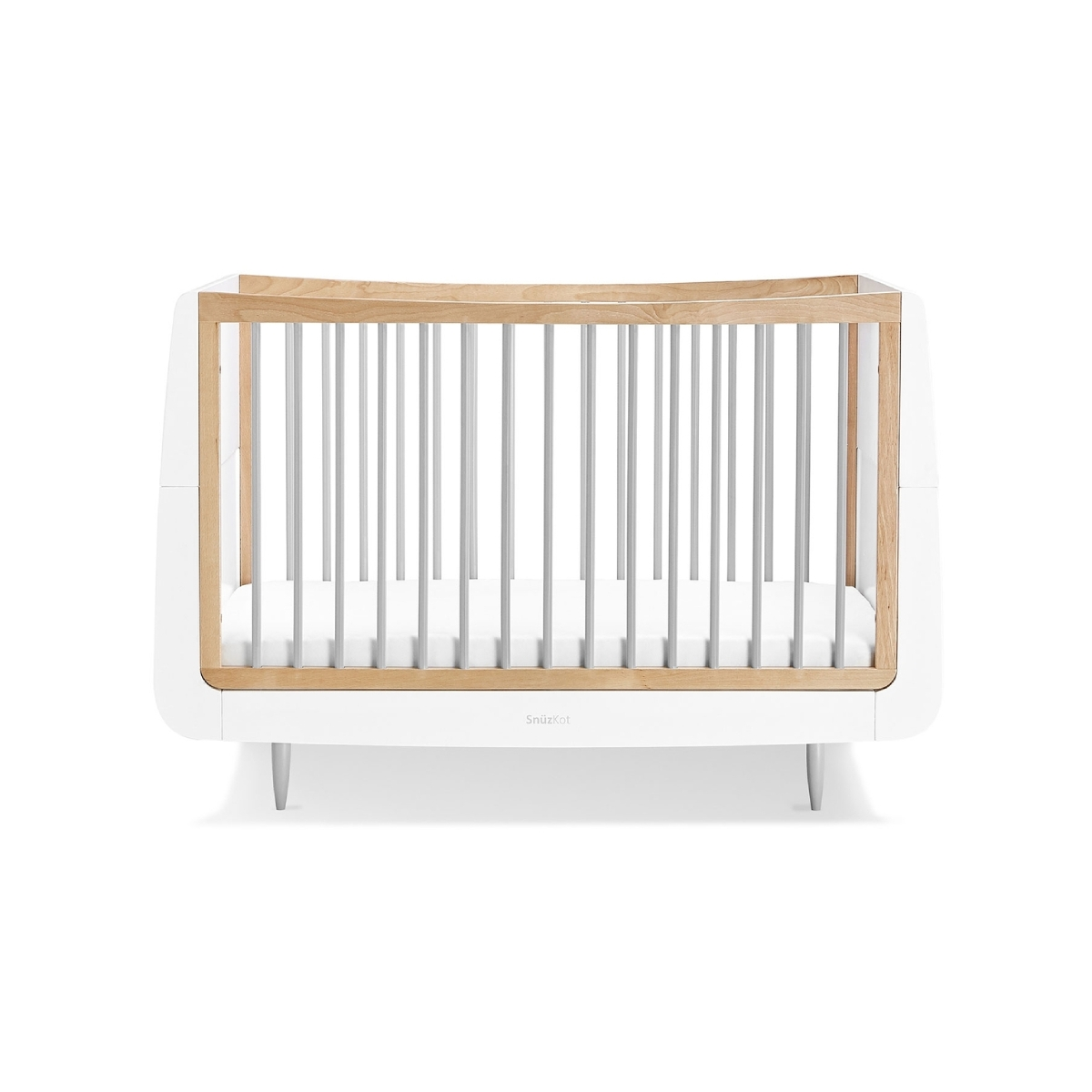 SnuzKot Skandi Cot Bed Grey