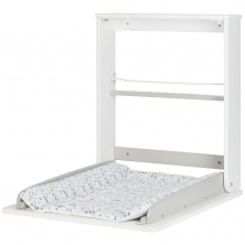 Badabulle Wall Mounted Changing Table-White