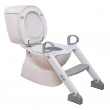 Dreambaby Step-up Toilet Trainer-Grey/White (2021)