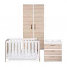 Silver Cross Furniture Set - 3 Piece - Finchley (New 2021)(Bounty)