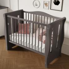 Little Babes Ltd Tia Spacesaver-Cot-Grey
