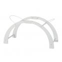 Shnuggle Moses Basket Curve Folding Stand-White (New)