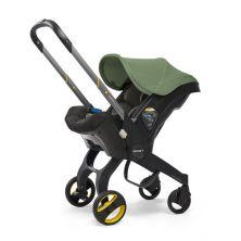 Doona Infant Car Seat Stroller-Desert Green + FREE Rain Cover to fit Doona Worth 24.99!