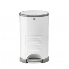 Korbell Nappy Bin Classic 16 litre-Pure White