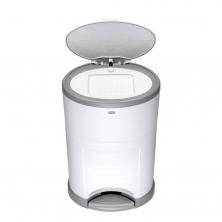 Korbell Nappy Bin Plus 26 litre-Pure White