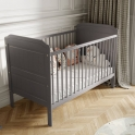 Little Babes Stanley Cotbed-Grey