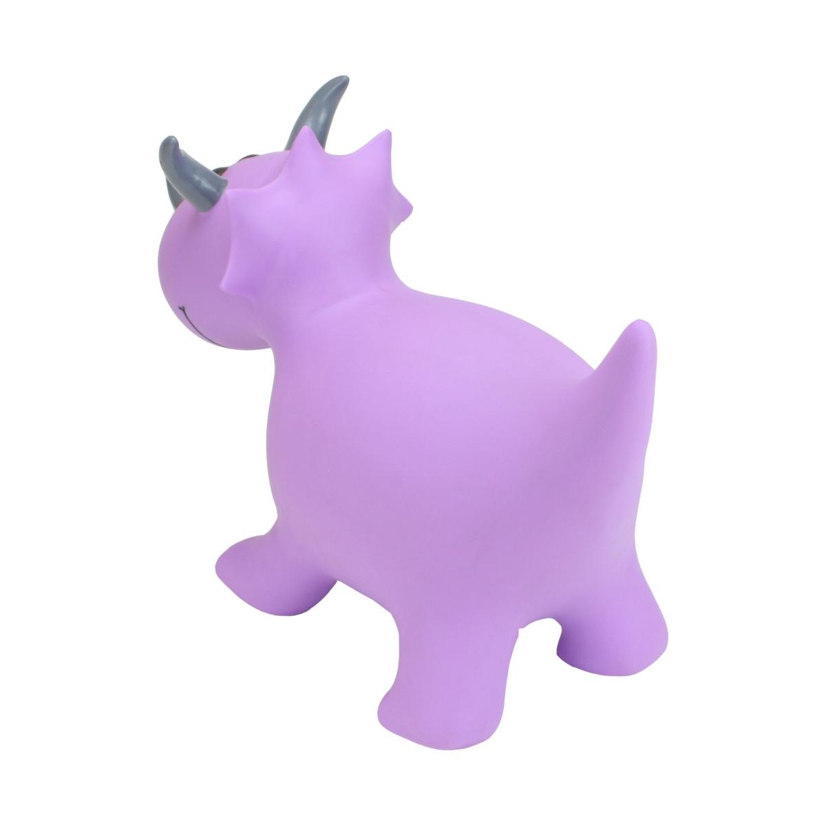 Happy Hopperz New Purple Triceratops