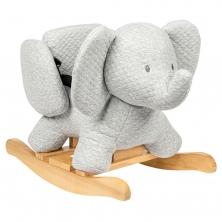 Nattou Tembo-Cotton Elephant Rocker