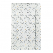 CuddleCo PVC Changing Mat-Milk Print