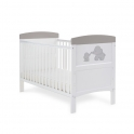 Obaby Grace Inspire Cotbed Me & Mini Me Elephants-Pink